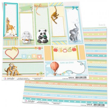 Papel Scrapbooking Save the Date CIAO BELLA 30x30 cm