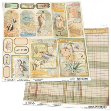 Papel Scrapbooking Sign of the Times Tags & Frames CIAO BELLA 30x30 cm