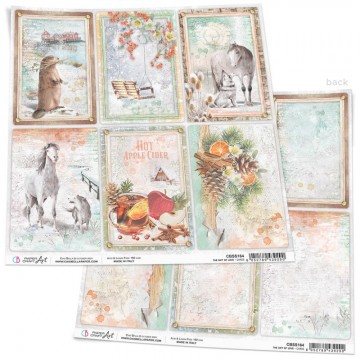Papel Scrapbooking The Gift of Love CIAO BELLA 30x30 cm