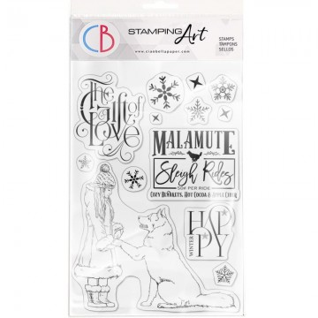 Clear Stamp Set 20x15 cm The Gift of Love CIAO BELLA
