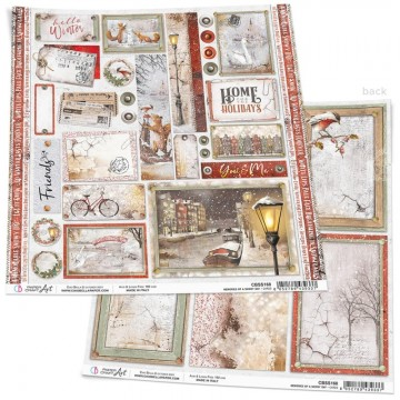 Papel Scrapbooking Memories of a Swony Day Cards CIAO BELLA 30x30 cm