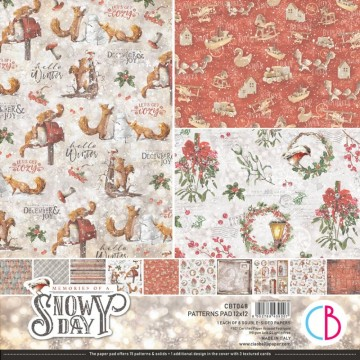 Colección Scrapbooking Memories of a Swony Day Patterns CIAO BELLA 30,5x30,5 cm