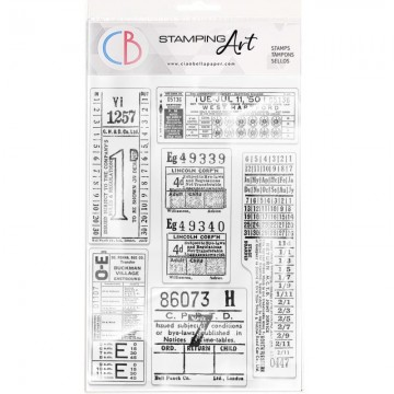 Clear Stamp Set 20x15 cm Tickets CIAO BELLA