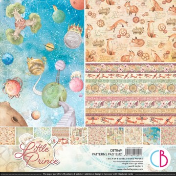 Colección Scrapbooking The Little Prince Patterns CIAO BELLA 30,5x30,5 cm
