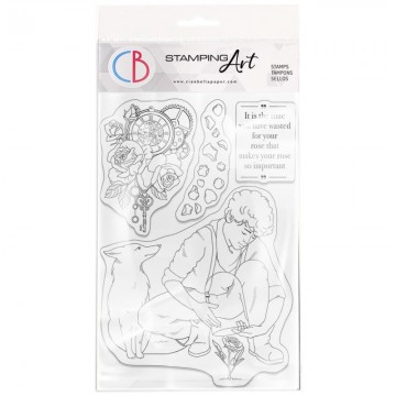 Clear Stamp Set 10x15 cm The Rose CIAO BELLA