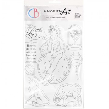 Clear Stamp Set 20x15 cm The Little Prince CIAO BELLA