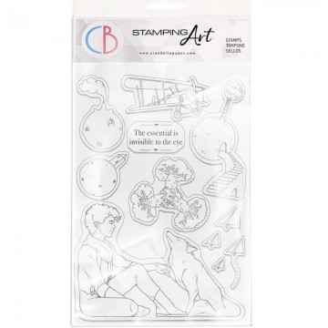 Clear Stamp Set 20x15 cm The Essential is Invisible CIAO BELLA