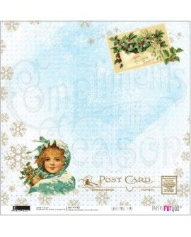 PAPEL SCRAP CHRISTMAS TIME PFY-202 32x30.5cm