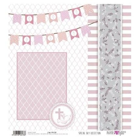 PAPEL SCRAP SPECIAL DAY COLLECTION PFY-278 32x30.5cm