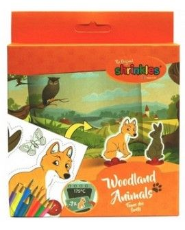 Mini Shrinkles WOODLAND ANIMALS