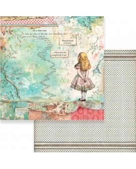 PAPEL SCRAP ALICIA 30,5x31,5 cm