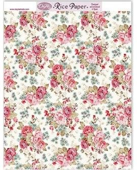 Papel arroz FLORES RICE110