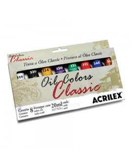 OIL COLORS CLASSIC 8 TUBOS 20 ml