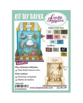 Dayka-589 KIT DIY DAYKA ESCAPARATE TIENDA BOUTIQUE