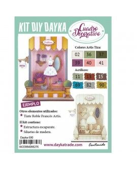 Dayka-590 KIT DIY DAYKA ESCAPARATE TIENDA FASHION