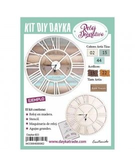 Dayka-604 KIT DIY DAYKA RELOJ ROYAL