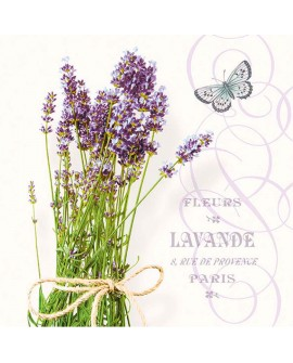 SERVILLETAS Bunch Of Lavender