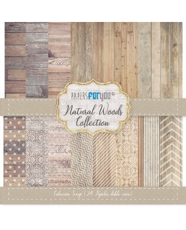 Paper For You NATURAL WOOD 24 uds.