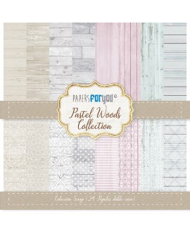 Papers For You PASTEL WOOD 24 uds.