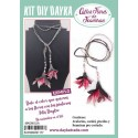 KIT DIY DAYKA COLLAR MAGNOLIA JAPONESA