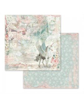 PAPEL SCRAP UNICORNIO FANTASY 30,5x31,5 cm