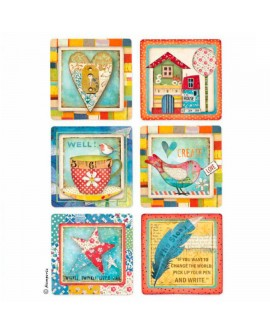 PAPEL DE ARROZ A4 PATCHWORK