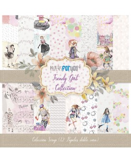 Papers For You TRENDY GIRL 12 uds