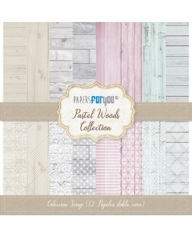 Papers For You PASTE WOODS 12 uds