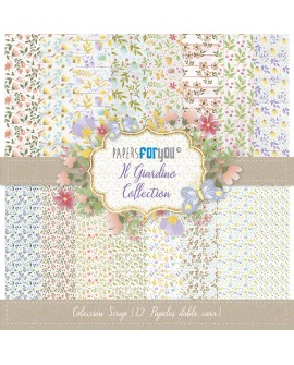 Papers For You IL GIARDINO 12 uds
