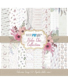 Papers For You BOHO CHIC 12 uds