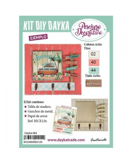 KIT DIY DAYKA TABLA PERCHA FURGO