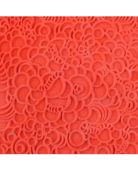 Molde TEXTURA BUBBLES 90x90 mm