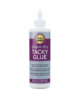 Aleene's TACKY GLUE quick dry 236 ml
