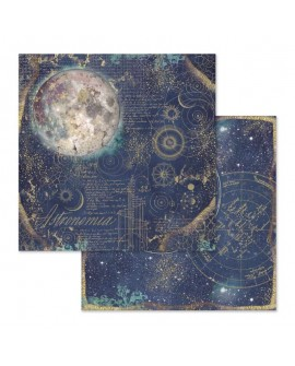Papel Scrap Cosmos Astral STAMPERIA