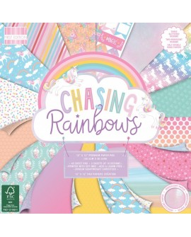 Chasing Rainbows FIRST EDITION 30x30