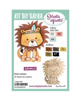 KIT DIY DAYKA LEÓN INDIO