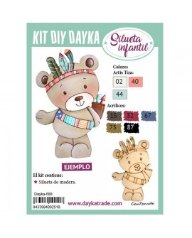 KIT DIY DAYKA OSITO INDIO