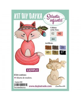 KIT DIY DAYKA ZORRO INDIO