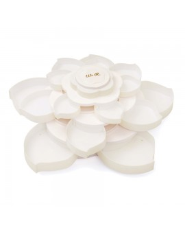 STORAGE BLOOM EMBELLISHMENT WHITE