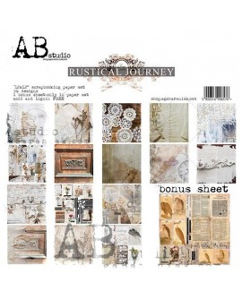 Rustical Journey AB STUDIO 30x30 8 uds + 1 Bonus